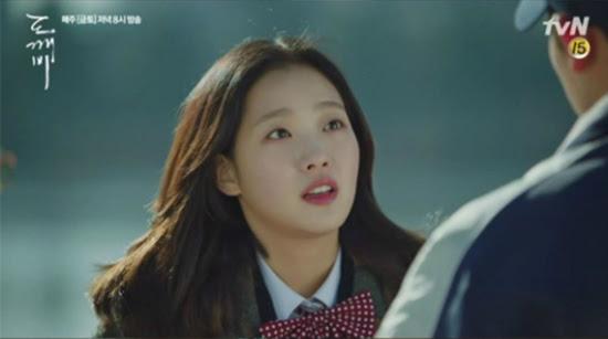 Kim Go-Eun shared jeonghaein