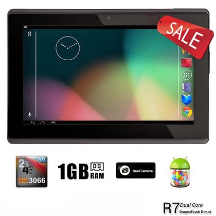 jpeg, Dragon Touch R7 7'' Google Android 4.1 Dual Core Tablet MID PC