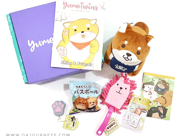 [Unboxing] YumeTwins Maret 2018: Shiba and Friends