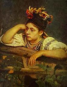 Илья Репин Украинка у плетня. 1875 г.jpg
