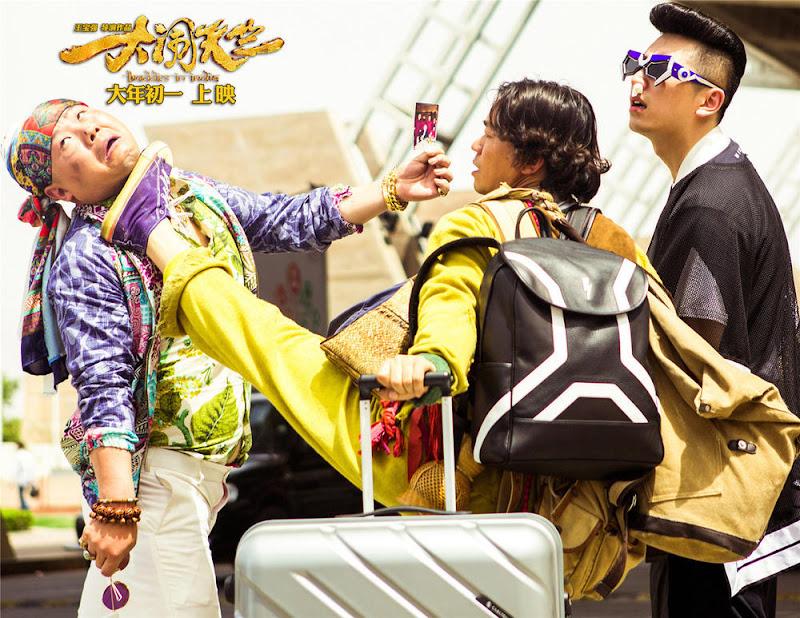 Buddies in India China / India Movie