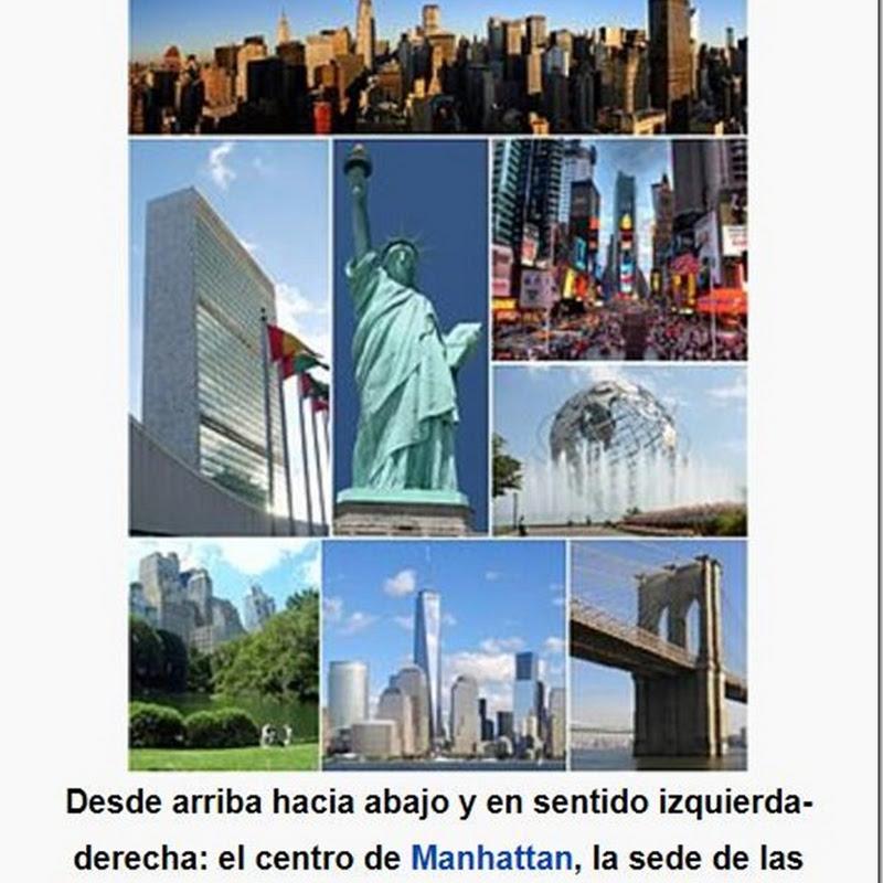 Nueva York: ciudad estadounidense