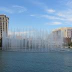 Las Vegas - Wasserfontainen vor dem Hotel Bellagio