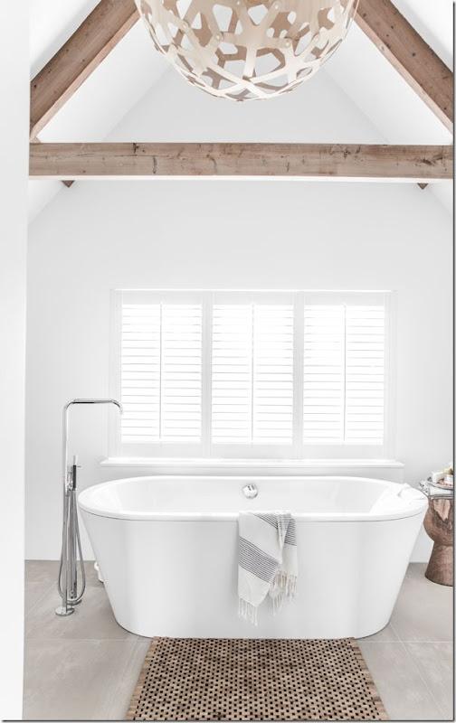 Stile Nordico per il bagno in mansarda - Case e Interni