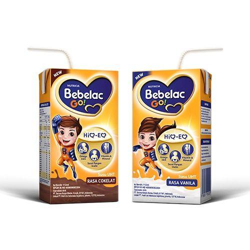7. Susu UHT anak Bebelac Go!