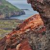 Scenery from Eldfell composite volcanic cone. Heimaey, Vestmannaeyjar islands. Vesa Haapala