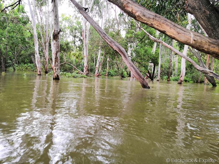 Coracle ride in Kaveri river at Talkadu, Karnataka