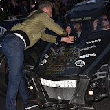 OIC - ENTSIMAGES.COM - David Coulthard with Bat Mobil at the  The Gumball 3000 Rally - in London 2nd May 2016 Photo Mobis Photos/OIC 0203 174 1069
