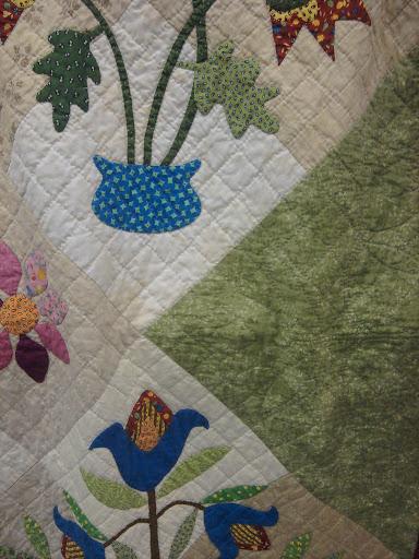 Hand work quilt