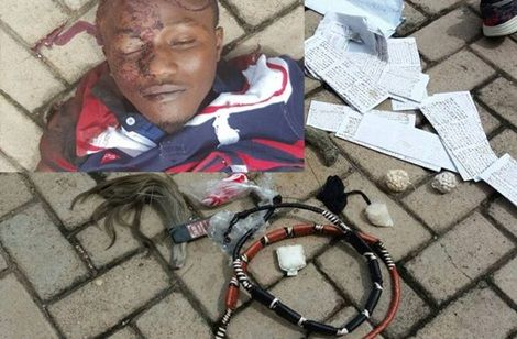 Armed Robber Killed After His Juju Failed Him During Robbery Attack (Photo)