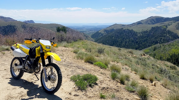 Top of the switchback on Beaver Road