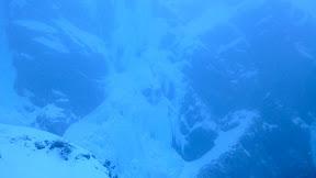 Le hibou de la cascade du Milieu!, ça fait peur!