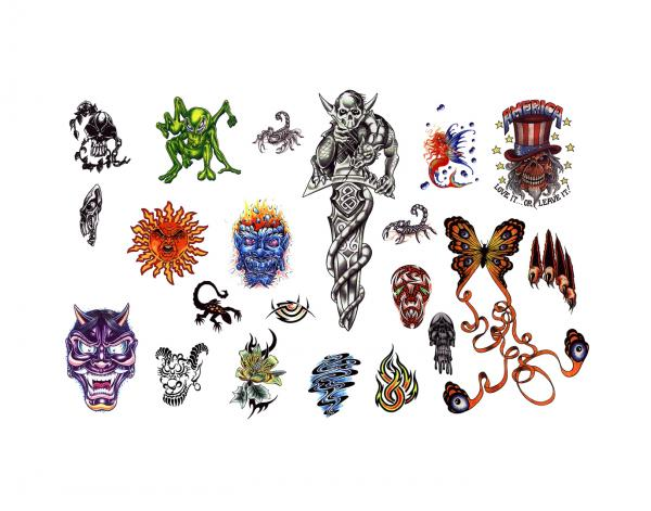 Mysterious Tattoo Design 5, Fantasy Tattoo Designs