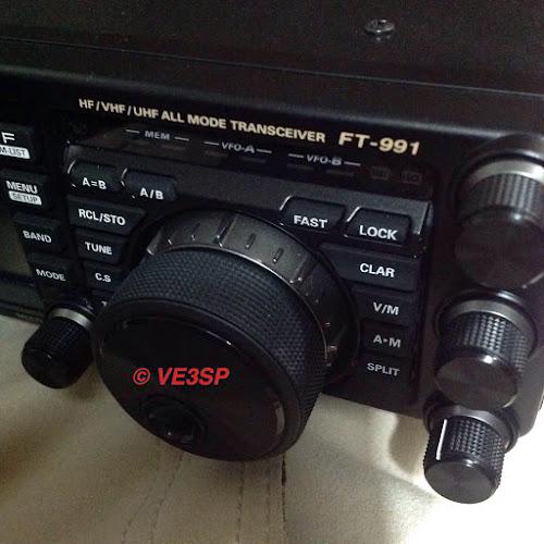 VE3SP UPDATED TO Yaesu FT-991a