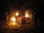 Slavnostní zapálení ohně.