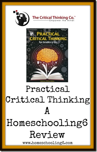 The Critical Thinking Co. Review by Homeschooling6