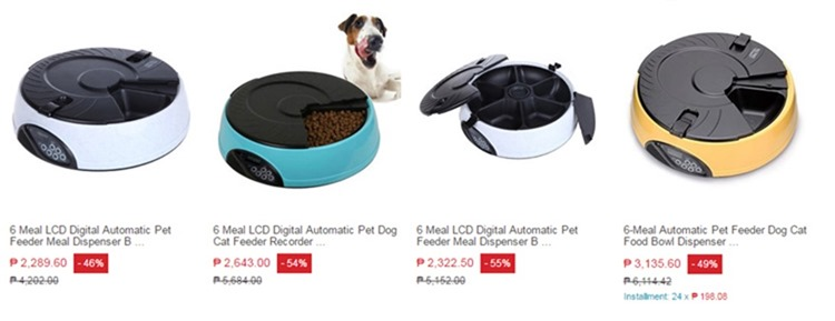 digital automatic pet feeder