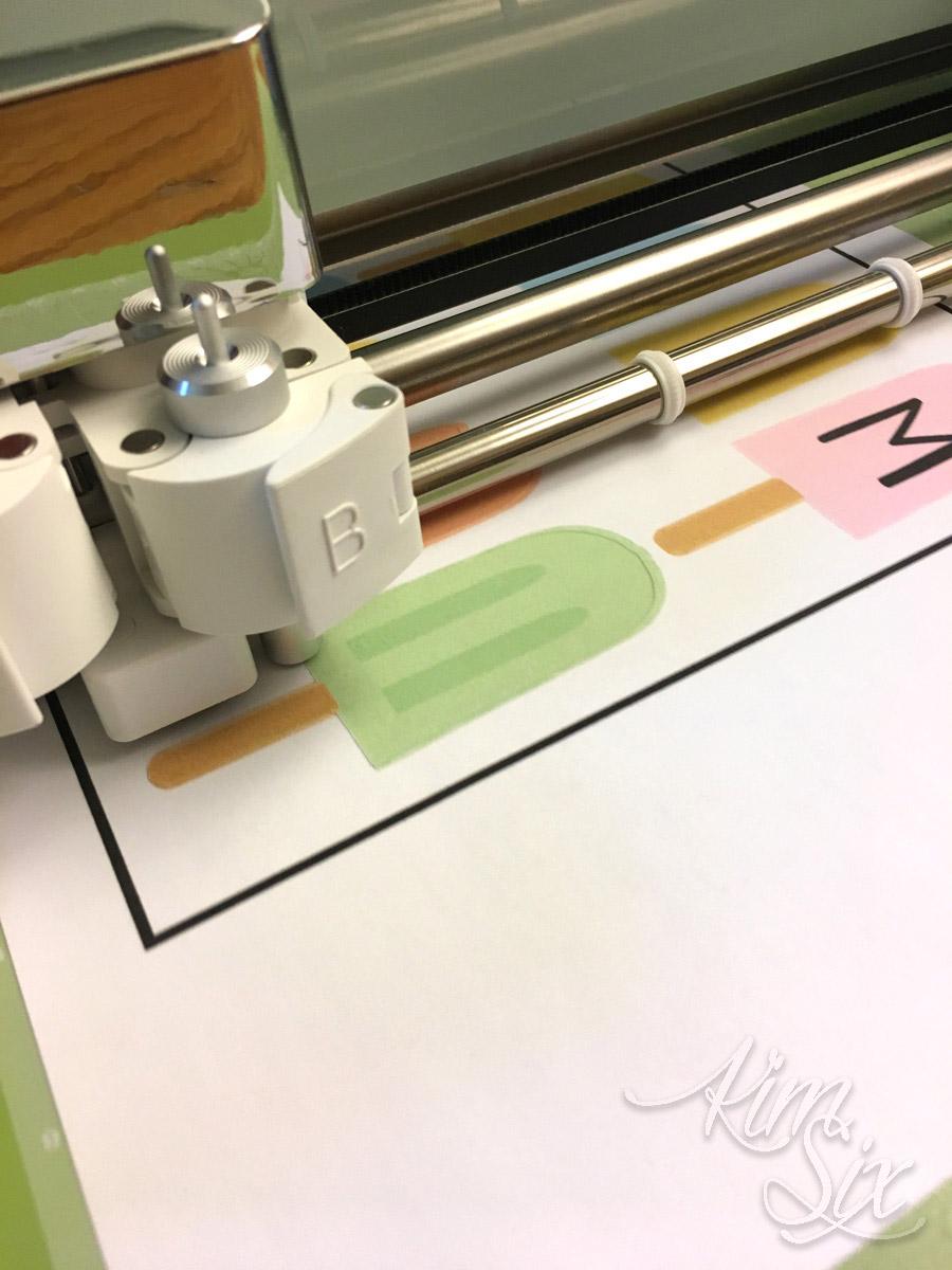 Print and cut on cricut
