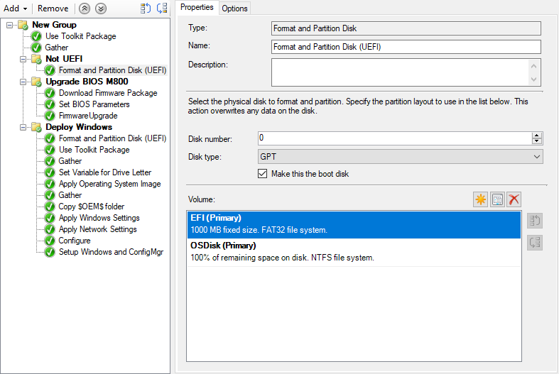 MDT: Acronis True Image and Disk Director integration in