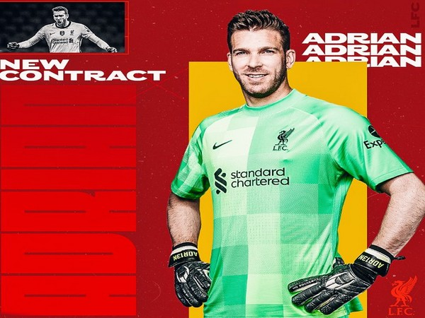 GOALKEEPER ADRIAN SIGNS NEW, EXTENDED CONTRACT WITH LIVERPOOL
