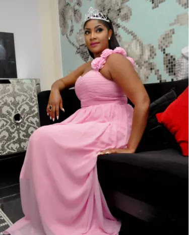 Angela Okorie beautiful picture