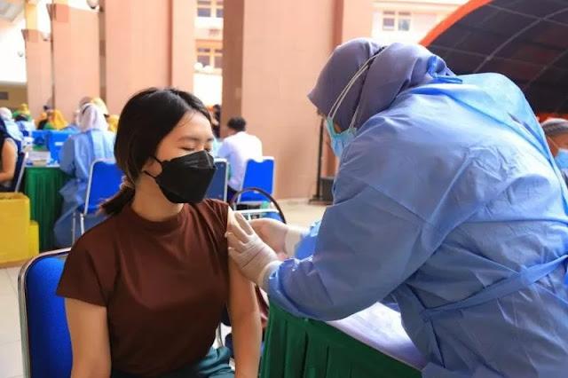 Vaksinasi Kabupaten Banjar rendah