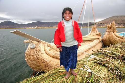 Kar dve noč bomo prespali pri domačinih na jezeru Titicaca