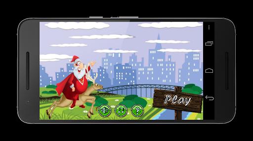 Wingsuit Santa: shenanigans