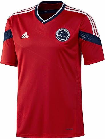 áo bóng đá colombia sân khách