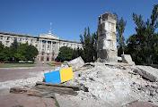 В Николаеве постамент Ленина делали на века: его никак не удается разрушить