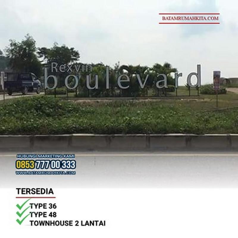 REXVIN BOULEVARD   Dipasarkan Dijual Disewakan Rumah Townhouse   Rumah Baru Simpang Tembesi Batam