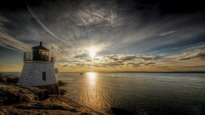 Old Lighthouse wallpaper