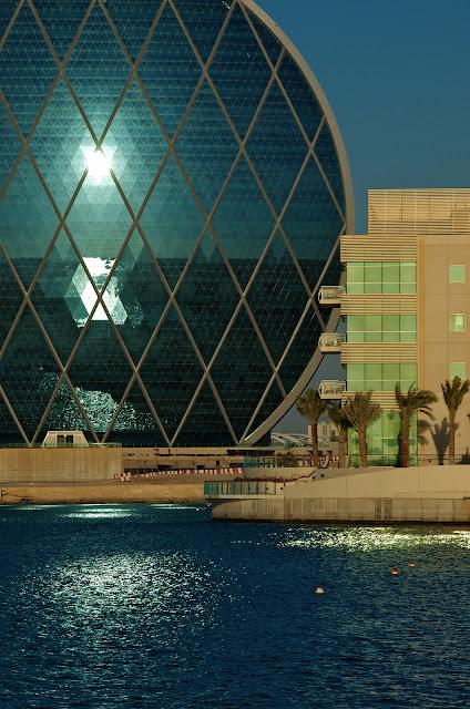 Al Raha Beach Hotel evening