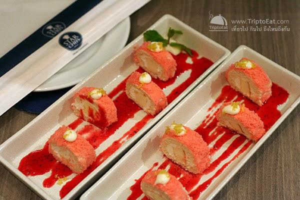 Hokkaido Light Cheese Sakura Maki คือ มากิเค้กไส้ครีมชีส