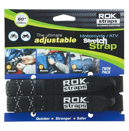 ROK Strap Adjustable med öglor reflex 2-pack