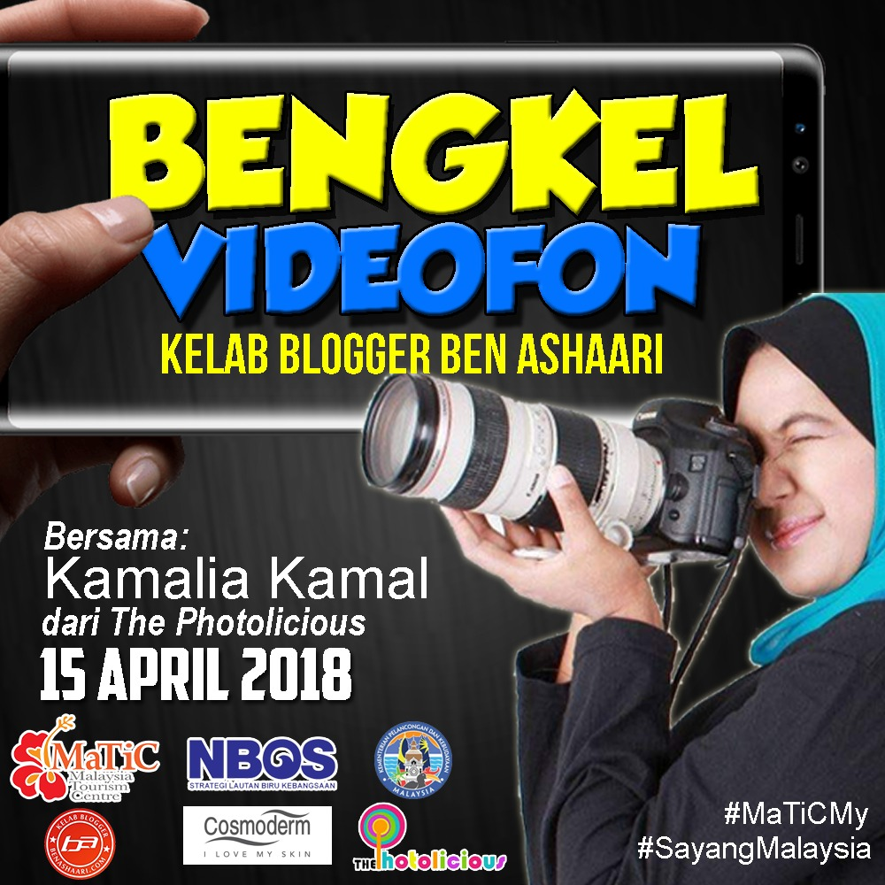 Bengkel Videofon KBBA9 Bersama Kamalia Kamal Founder The Photolicious