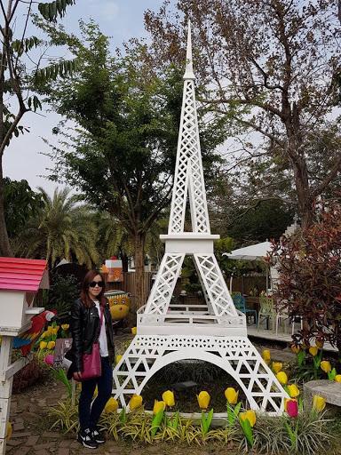 Eiffel Tower at Carton King Creativity Park Taichung Taiwan
