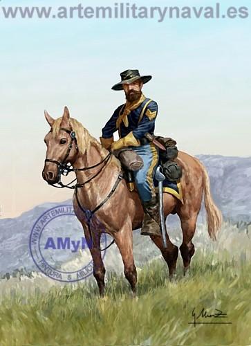 7º de Caballería.-1874