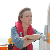 Crew Member Anne Millman - wondering what it's all about!