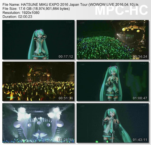 [TV-Variety] 初音ミク – 生中継! HATSUNE MIKU EXPO 2016 Japan Tour (WOWOW LIVE 2016.04.10)