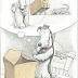 Author/illustrator Mark Teague's Box-Savvy Pooch.
