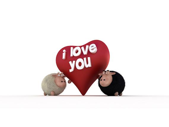 Valentinovo besplatne ljubavne slike čestitke pozadine za desktop 1152x864 free download Valentines day 14 veljača ovce I love you
