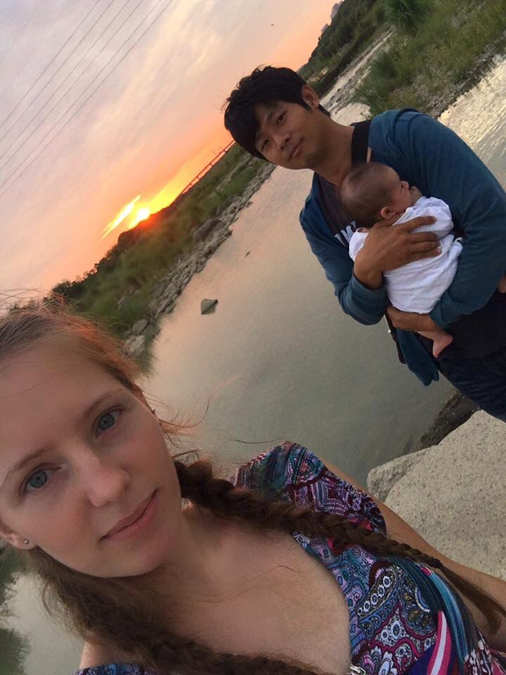 zhubei tofu rocks travel in hsinchu taiwan sunset amwf couple
