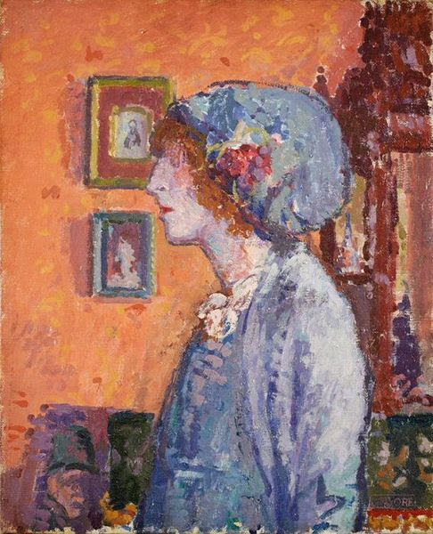 Spencer Gore - The Artist's wife, Mollie Gore