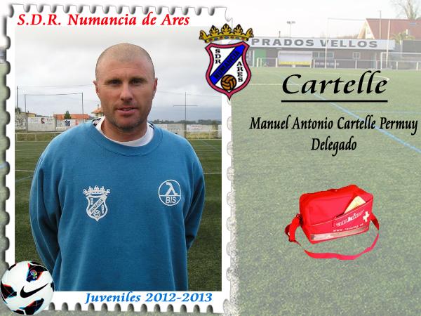 ADR Numancia de Ares. Cartelle.