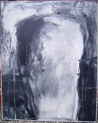 Equilibre, 1997 150 x 120 cm, acrylique sur toile