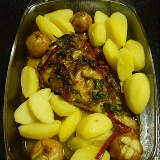 Red Fish in the Oven Recipe