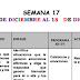 Plan de trabajo semana 17 de 1° grado del 14 al 18 de diciembre