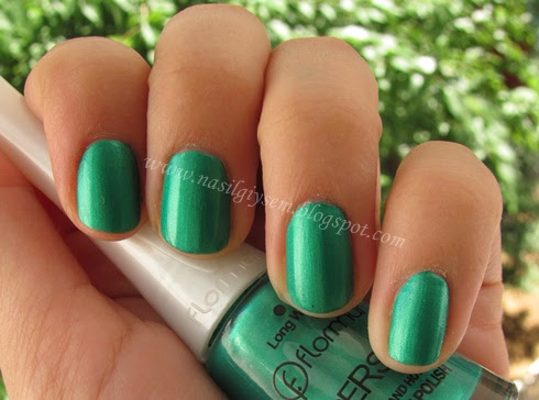 yeşil renk oje flormar