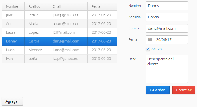 tutorial spring boot vaadin formulario CRUD